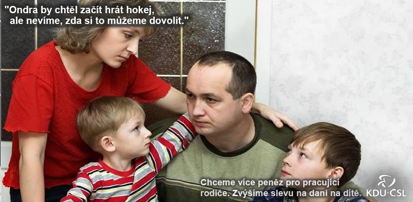 Vizuál KDU-ČSL z fotobanky
