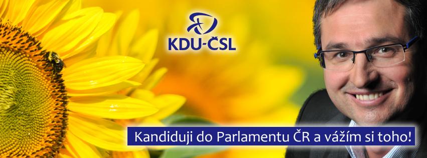 Billboard KDU-ČSL pro volby 2013
