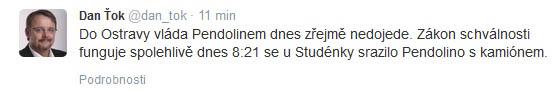 Ťok Twitter Studenka