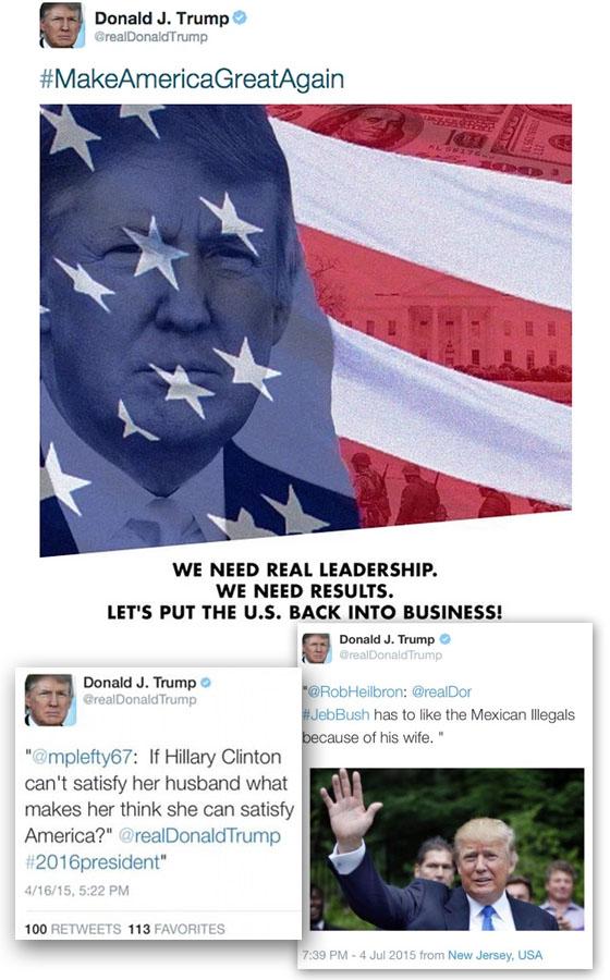trump twitter fail