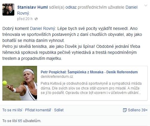huml-kvitova-facebook