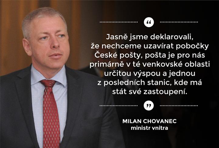 grafika ČSSD Chovanec