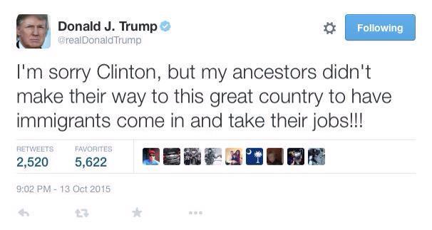 Twitter fail Trump