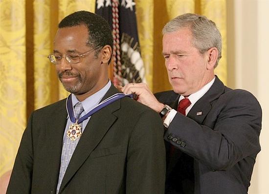 Ben Carson - medaile