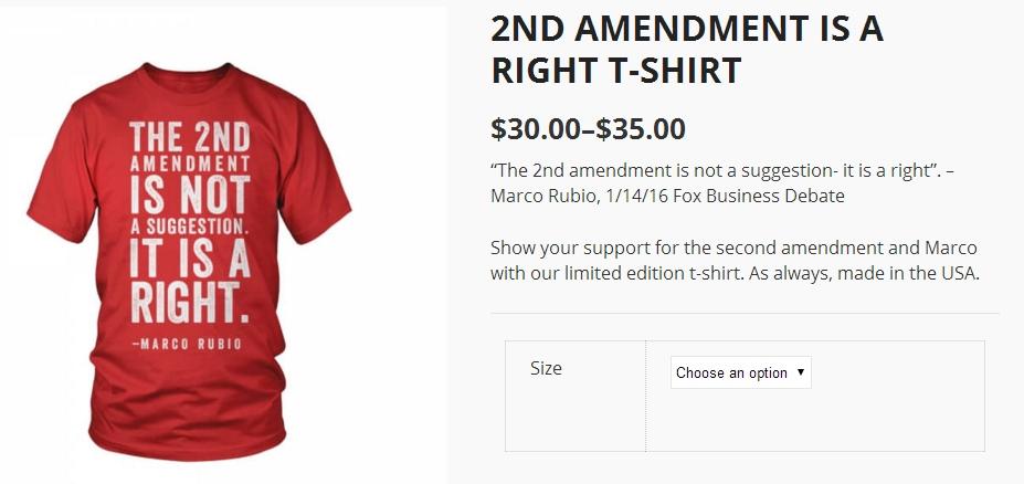 Rubio tričko