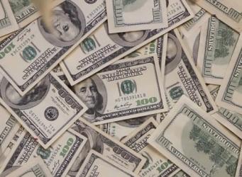 peníze dolary usa